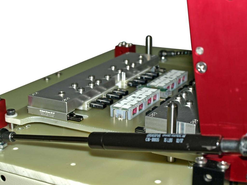 Dual Side-access Fiber Optic Test Fixture