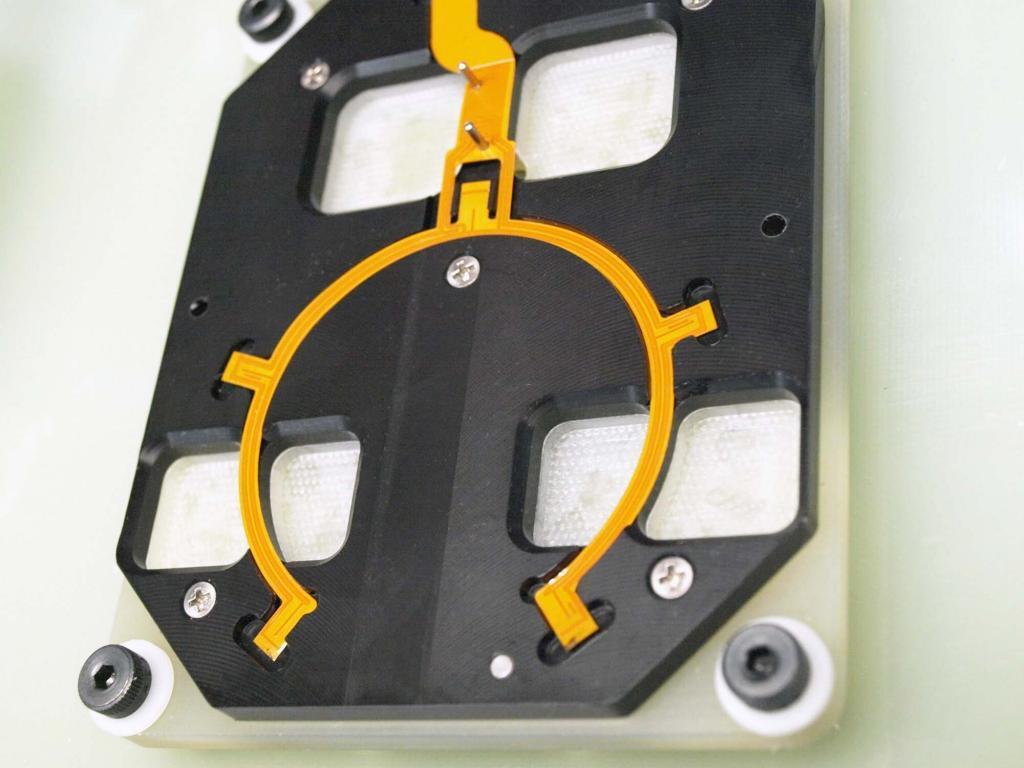 Flex-circuit Test Fixture Nest