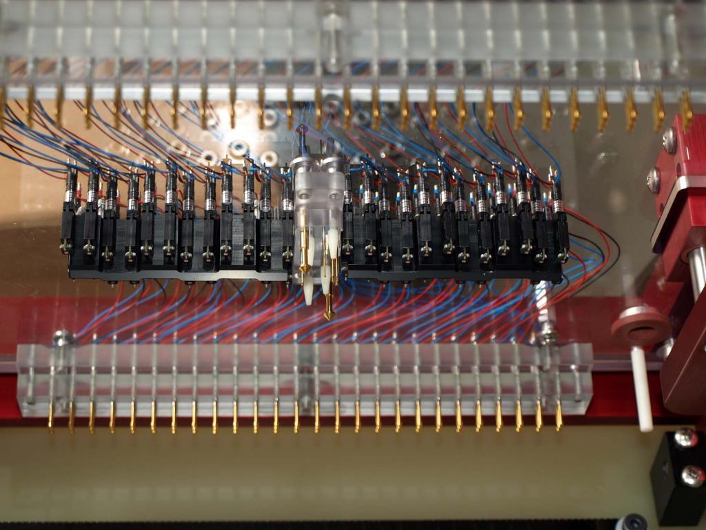 Floated LED Sensor Array